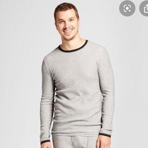 Long Sleeve Thermal Shirt - Waffle Knit